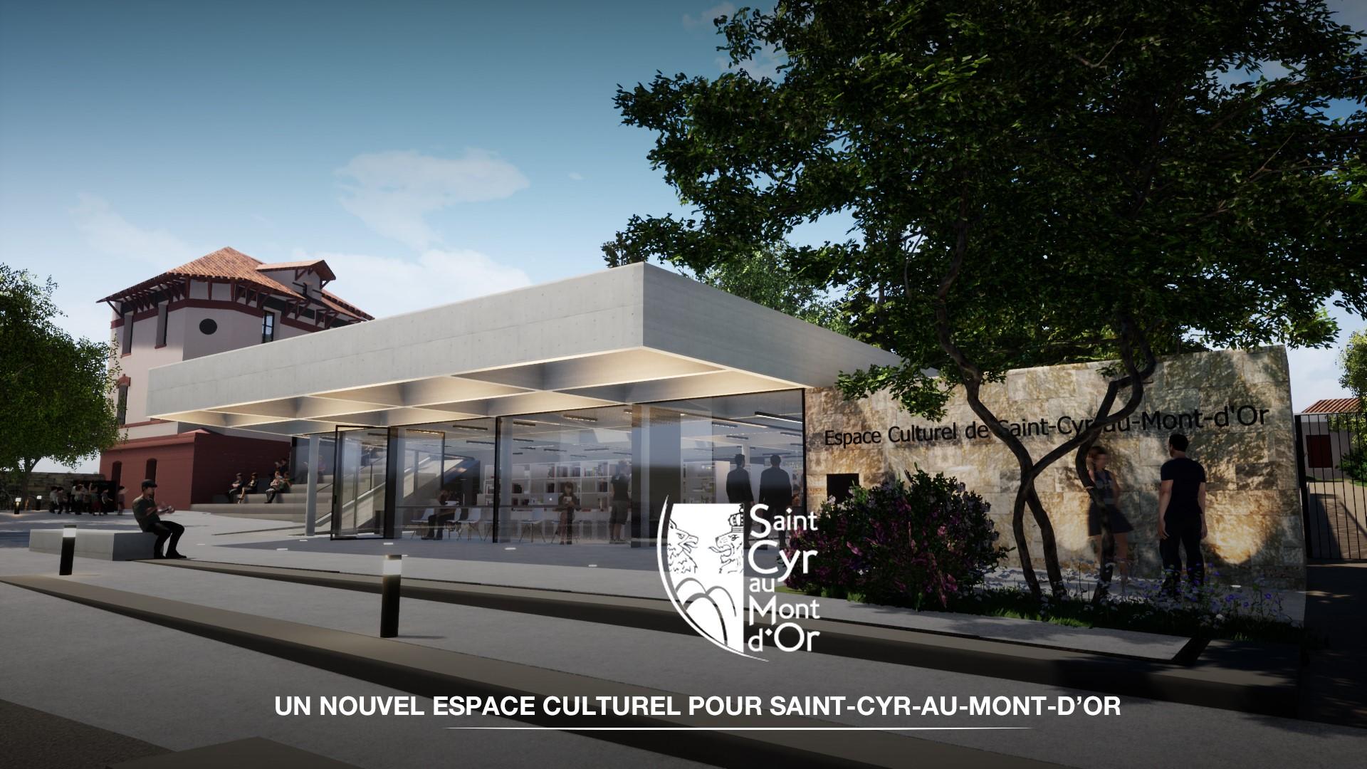 Les Jardins Des Monts D Or construction du nouvel espace culturel : les travaux