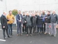 Inauguration des Ateliers municipaux