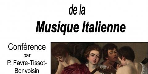 Conférence musicale - les très riches heures de la musique italienne