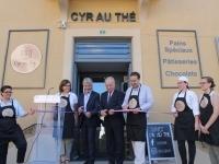 Inauguration de Cyr au thé