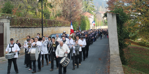 Commémoration de l'anniversaire de l'Armistice de 1918