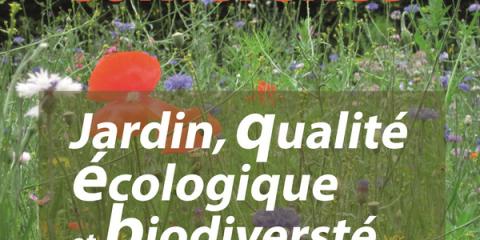 Conférence Jardin, qualité écologique et biodiversité