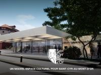 Construction du nouvel Espace Culturel